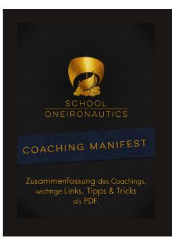Klartraum Coaching Manifest Thumb