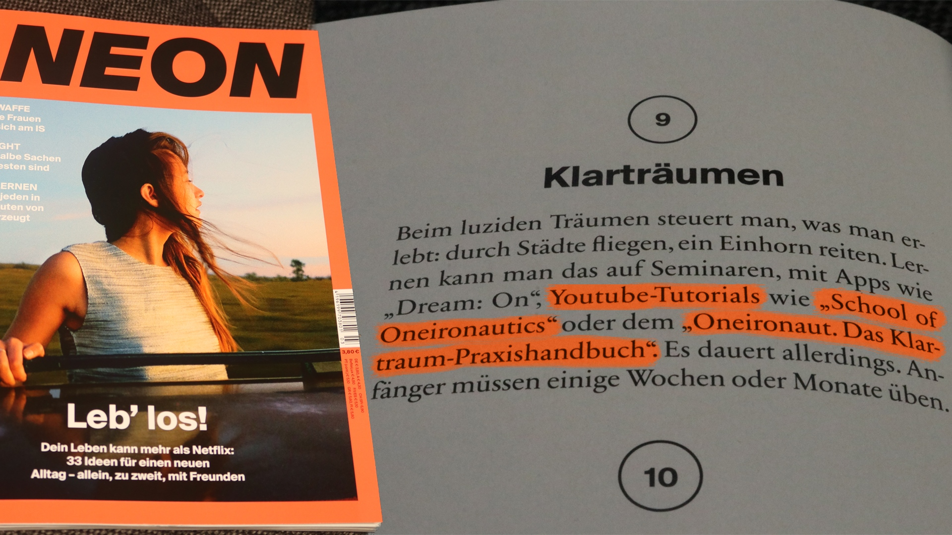 NEON_school_of_oneironautics_oneironaut_das_klartraumpraxishandbuch