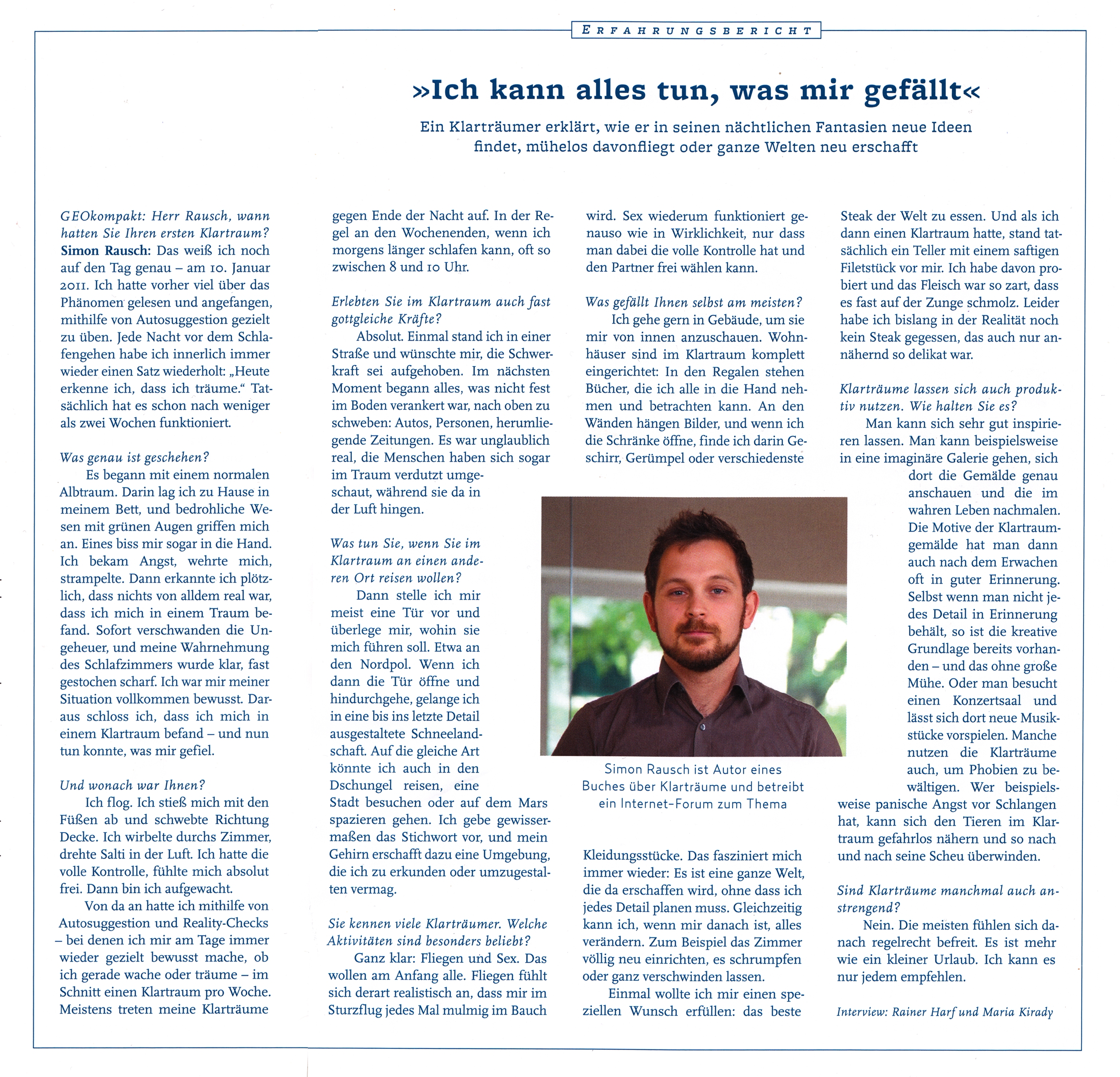 GEOkompakt Simon Rausch Interview
